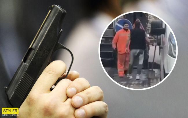 В центре Киева мажор обстрелял дорожников: циничное поведение поражает (видео)