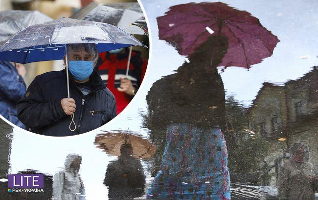 Украину накроют ливни и грозы: синоптики предупредили о непогоде
