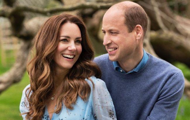 Слишком трогательно! Кейт Миддлтон и принц Уильям поделились фото в честь 10-летия брака