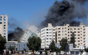 Израиль объяснил удар по башне в Газе: там был штаб военной разведки ХАМАС