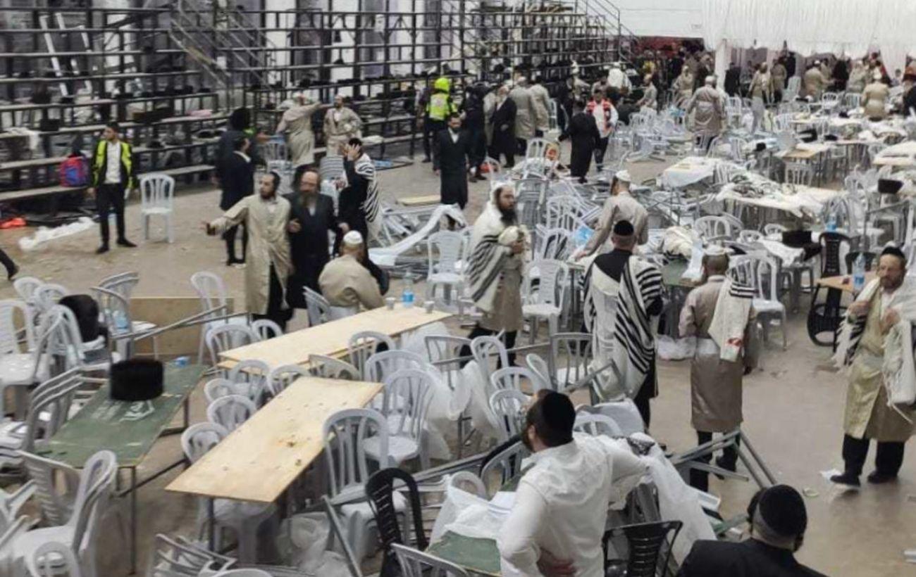 Обрушение трибуны синагоги в Израиле: число пострадавших увеличилось до 219