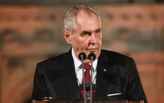 Земан назвав чинного прем'єра Чехії своїм бажаним наступником