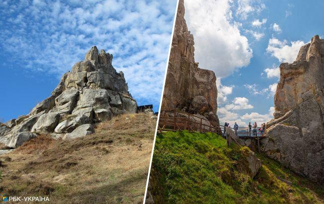 Город-крепость: уникальный скальный комплекс на Львовщине, который стоит увидеть