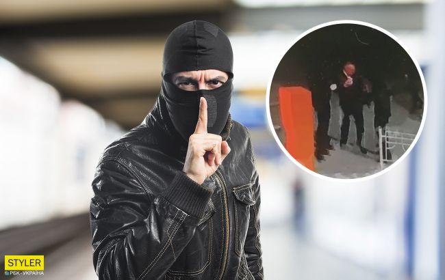 В Киеве похитили бизнесмена-иностранца:дерзкое нападение попало на видео