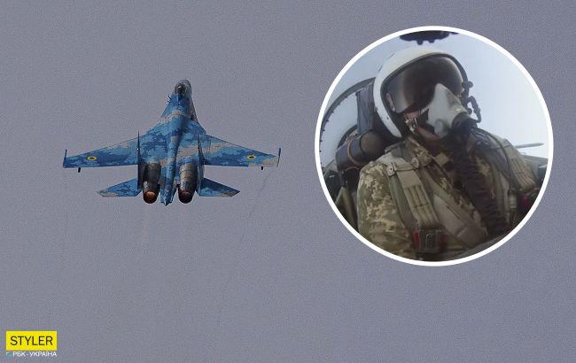 """Ас ВСУ исполнил 20 фигур высшего пилотажа за 10 минут: видео """"небесной хореографии"""""""