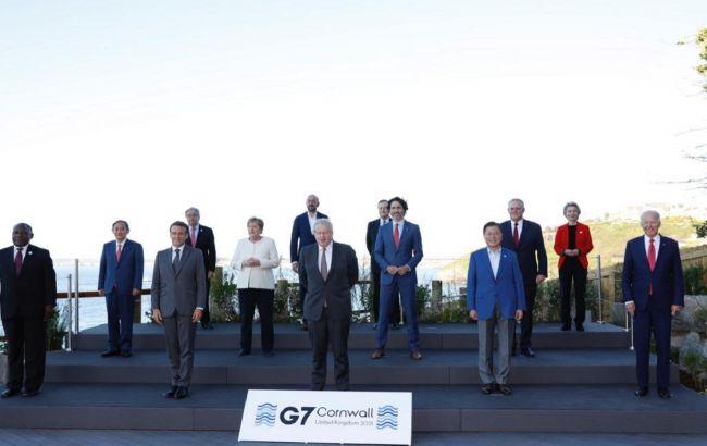"""Главы стран """"Большой семерки"""" объявили о введении инвестиций для """"зеленых"""" проектов"""