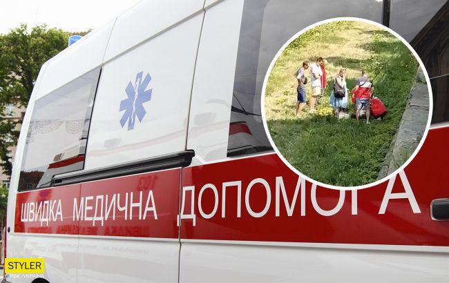 В Ужгороде школьник упал с перил набережной: ребенка сначала парализовало (видео)