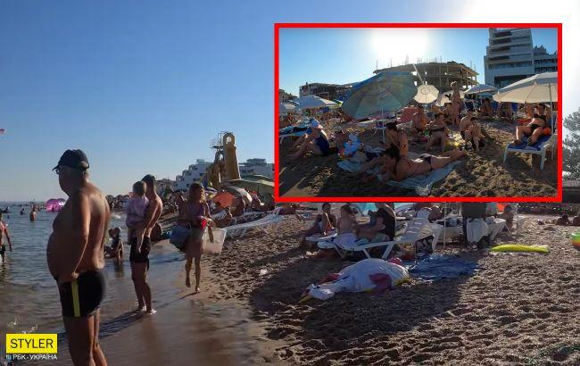 Море зелене, все в смітті і навала відпочивальників: туристи скаржаться на українські курорти