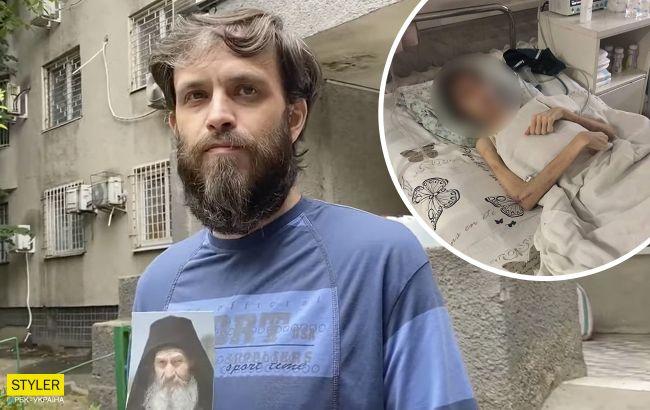 """В Одесі батько довів сина до крайнього виснаження, практикуючи """"духовне лікування"""" (відео)"""