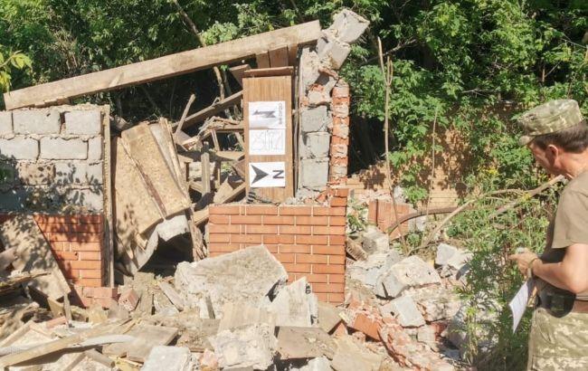 Боевики из минометов обстреляли Опытное. Повреждены здания