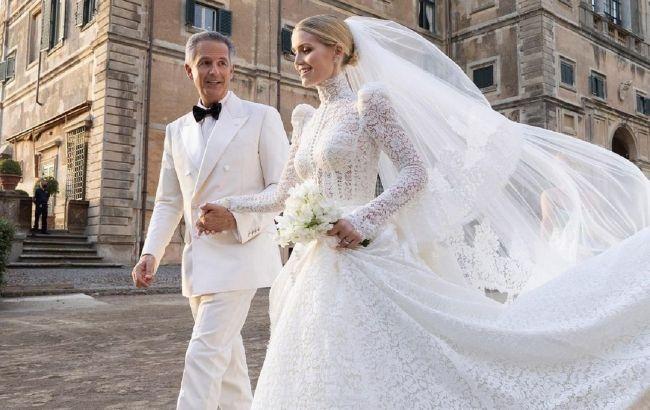 Племянница принцессы Дианы Китти Спенсер вышла замуж: 5 роскошных образов невесты