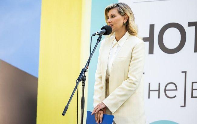 Увага на колір і крій: Олена Зеленська показала, як носити брючний костюм восени 2021
