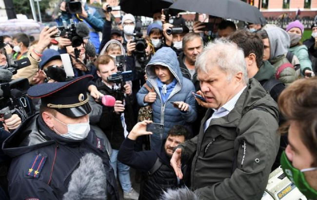 """У Москві відбулася акція проти закону про """"іноземних агентів"""""""