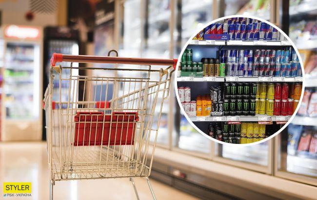 В українські супермаркети завезли нібито небезпечний енергетик: що каже виробник