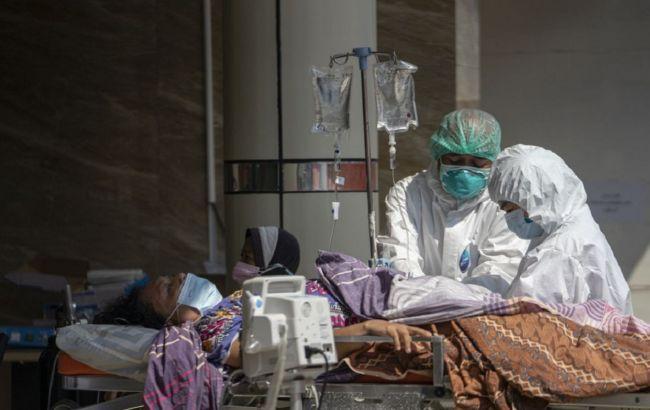 Украина заняла третье место в Европе по суточной смертности от коронавируса