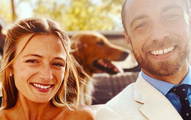Сукня свекрухи і розкішна каблучка: брат Кейт Міддлтон показав перше фото зі свого весілля