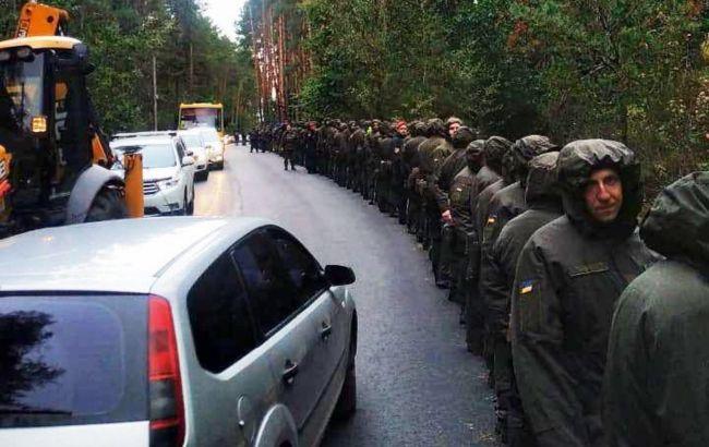 Замах на Шефіра: поліція прочісує 430 гектарів лісу, до пошуку доказів залучили водолазів