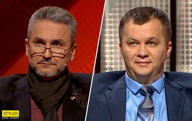 """Милованов и  Друзенко устроили скандал в прямом эфире: """"вам дать в глаз?"""""""