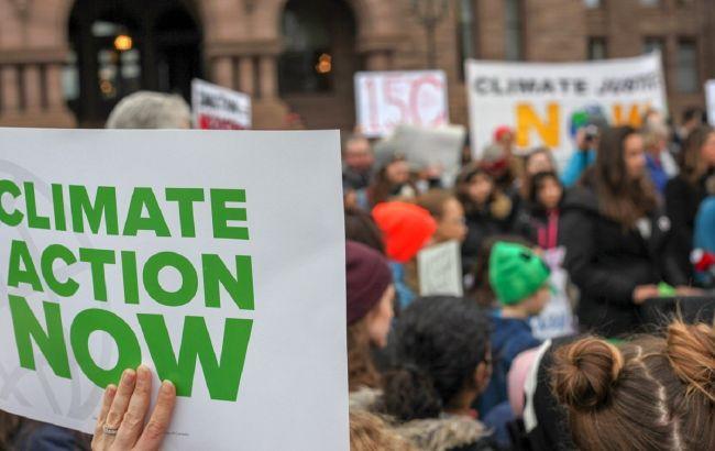 У Брюсселі відбувся марш за посилення боротьби зі змінами клімату