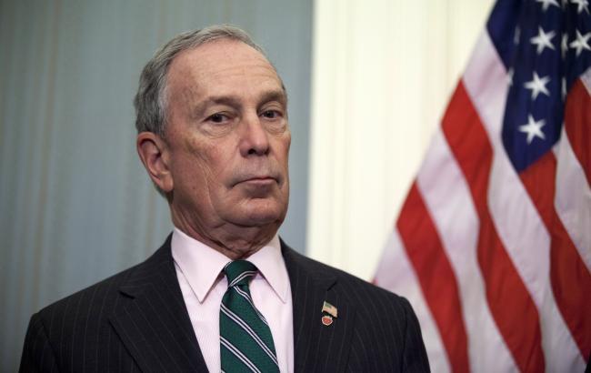 Колишній мер Нью-Йорка Блумберг відмовився від участі у президентських виборах