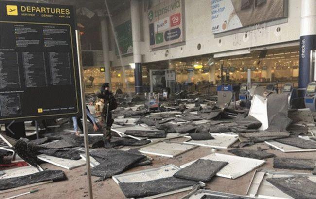 Фото: в Брюсселе произошла серия терактов