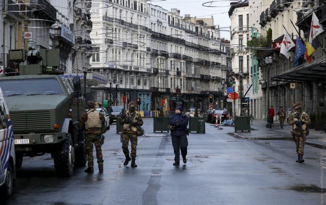 В центре Брюсселя проходят две спецоперации