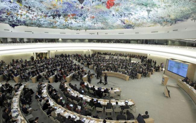 Израиль обвинил в антисемитизме Совет ООН по правам человека
