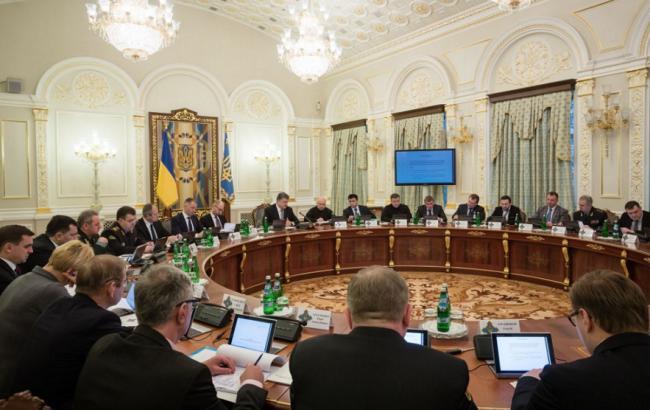 "РНБО затвердила санкційний ""список Савченко"""