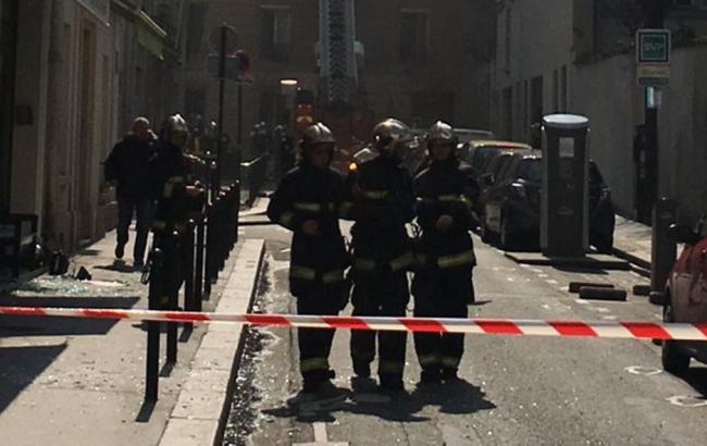 У центрі Парижа стався вибух