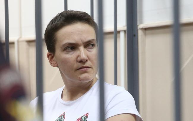 Савченко сегодня могут этапировать к месту отбывания наказания