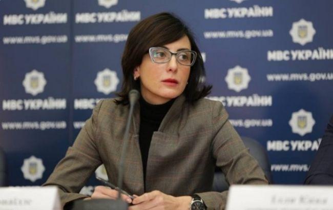 Деканоидзе заявила о росте преступности в Киеве