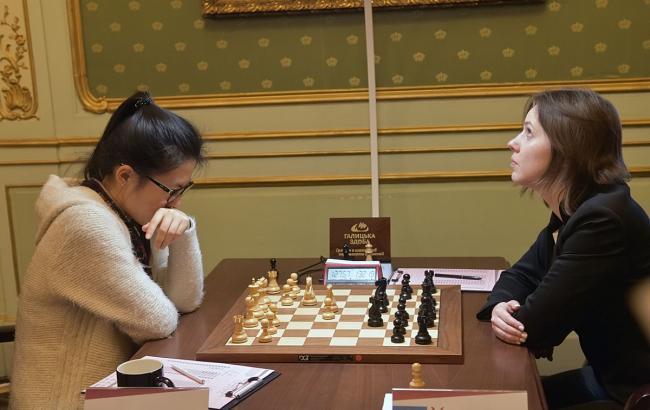 Украину временно отстранили от международных шахматных соревнований