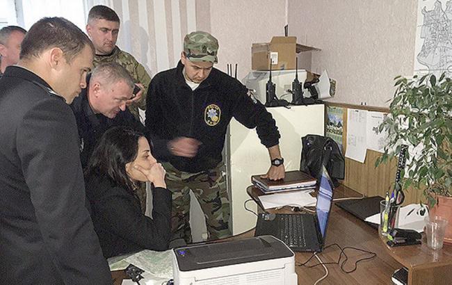 Фото: візит глави Нацполіції Хатії Деканоїдзе в Рівненську область