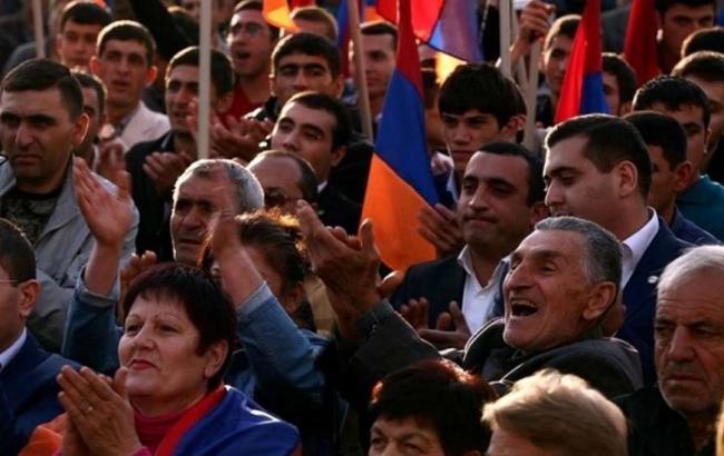 Фото: у Вірменії пройшов мітинг проти візиту Лаврова
