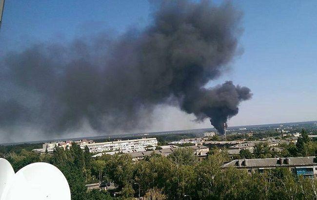 Фото: пожежа в Бучі (автор фото - Анатолій Носарев)