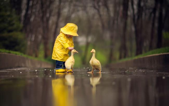 Погода на завтра: в Украине дожди местами с грозами, температура до +21