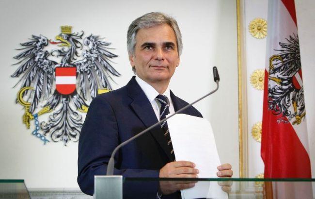 Канцлер Австрії подав у відставку
