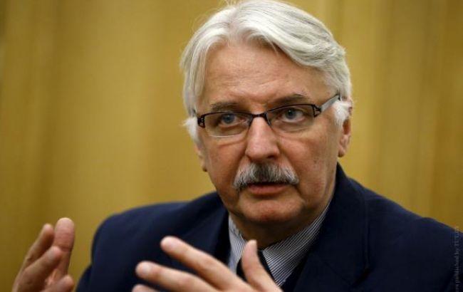 Глава МЗС Польщі: Туск сам виключився з вирішення російсько-українського конфлікту