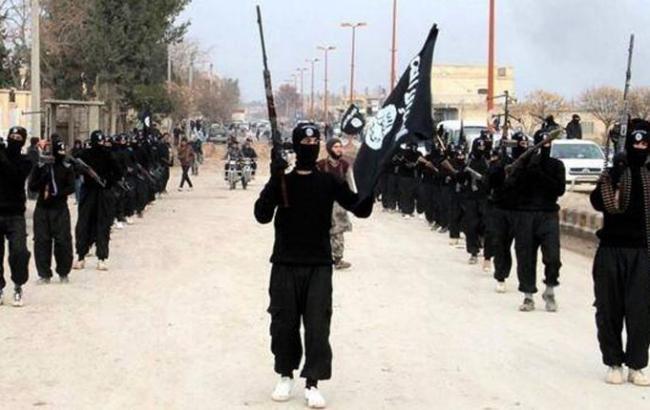 Фото: боевики ИГИЛ в Ракке