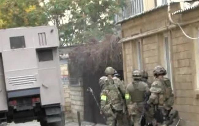 Исламские террористы изгруппировки сообщили, что поихвине погибло трое полицейских вДербенте