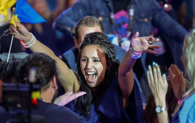 Фото: Джамала победила на Евровидении