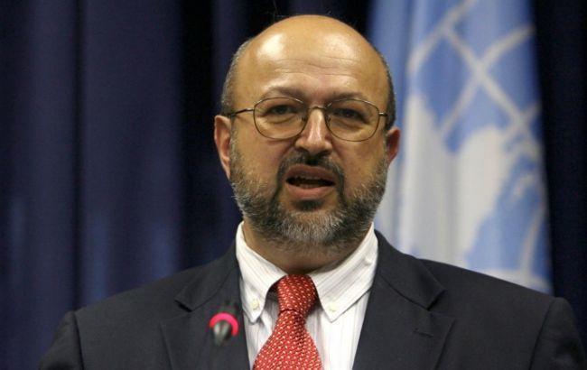 Фото: генеральный секретарь ОБСЕ Ламберто Заньер