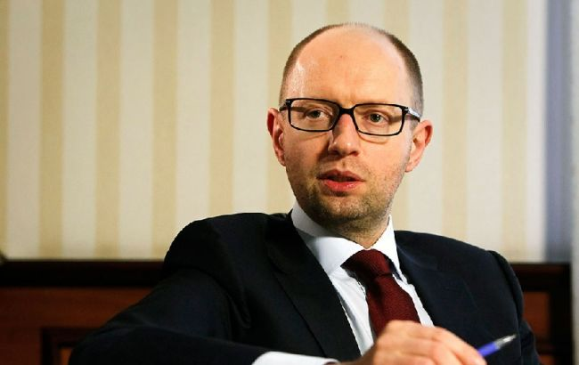 """""""Народний Фронт"""" не висуває кандидатів на місцеві вибори, - Яценюк"""