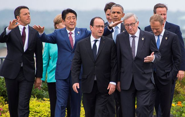 """G7: глобальный рост экономики является """"приоритетной задачей"""""""
