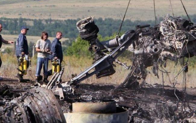 Фото: рейс МН17 сбили в 2014 году