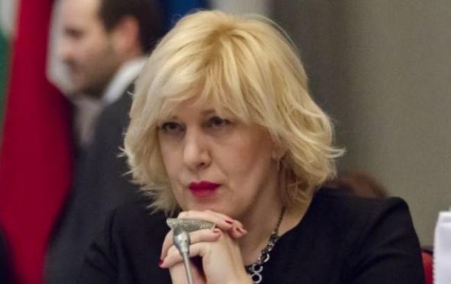 Фото: представник ОБСЄ з питань свободи ЗМІ Дуня Міятович