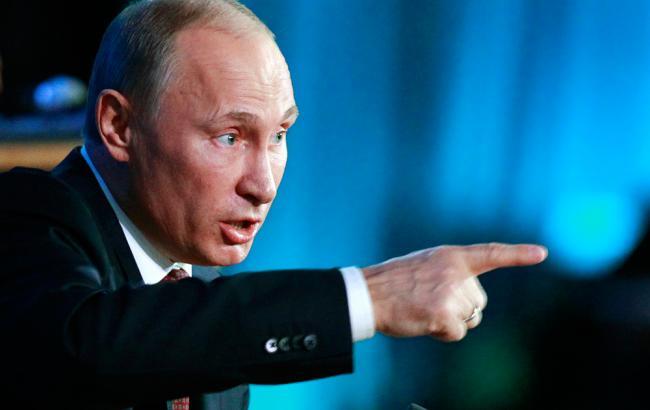 Путін звинуватив ВСУ в обстрілах Донбасу