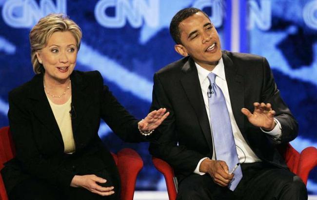 Обама официально поддержал Клинтон на президентских выборах