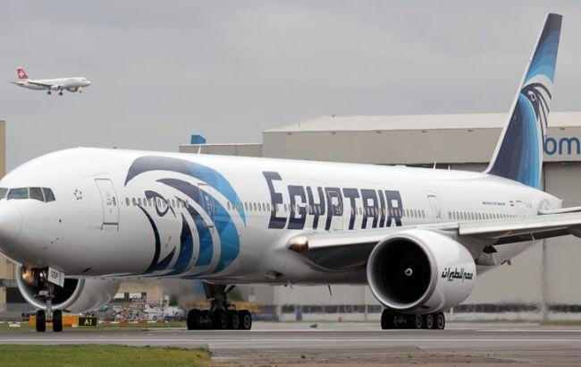 Поисковое судно нашло места расположения фрагментов самолета EgyptAir