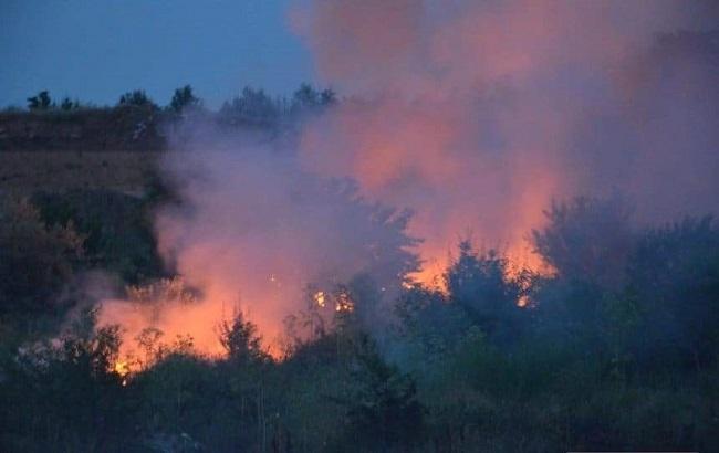 Фото: пожар в Николаеве